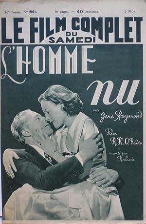 L'HOMME NU (Love on a Bet) : raconté par R.