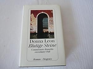 Blutige Steine - Commissario Brunettis vierzehnter Fall: Donna Leon