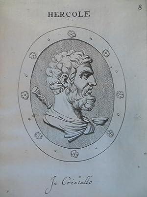Gemmae Et Sculpturae Antiquae Depictae.Addita Earum Enarratione: Agostini , Leonardo (Augustino). ...