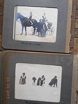 19th C, Photo Album (Pinkham Family) Kennebunkport, Maine: Dr. Edward Pinkham Family