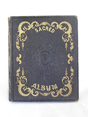Memory Album from Young Lady with 6 Lockets of Hair and Handwritten Poems from Friends, 1850-1865