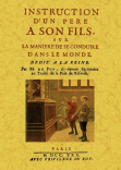INSTRUCTION D'UN PERE A SON FILS, SUR: PUY, M. DU