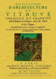 LES DIX LIVRES D ARCHITECTURE DE VITRUVE: PERRAULT, M.