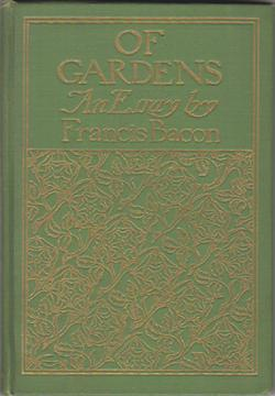 Of Gardens: An Essay