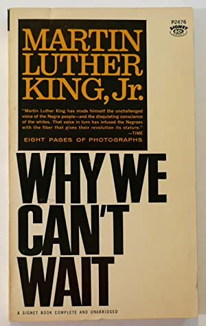 Why We Can't Wait: King, Martin Luther,