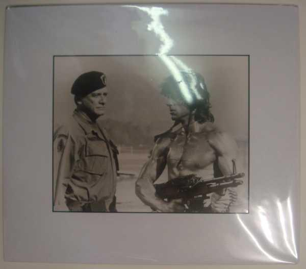 Rambo: First Blood Part II, Sylvester Stallone, Original Press Agency Photograph Rank Film Very Good Softcover