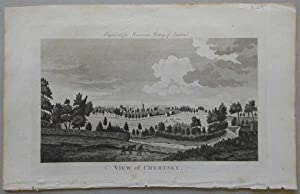 A View of Chertsey, London, 1776, Antique Engraving, Print