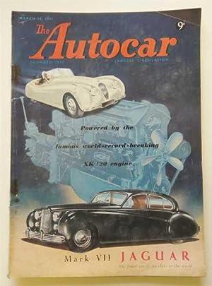 Mar 16th 1951 Jaguar XK120 Mk VII: Autocar