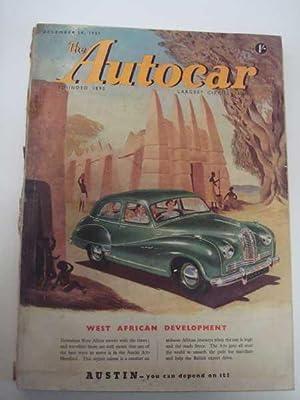 Autocar Dec. 28, 1951, 1951 Sport Reviewed;: Autocar