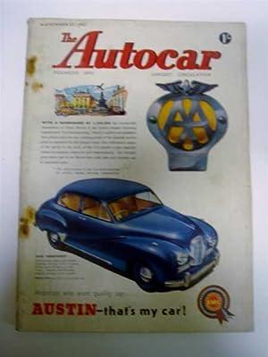 Autocar Nov. 27, 1953, Road Test: Simca: Autocar