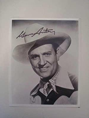Gene Autrey, Original Hand-Signed Photograph