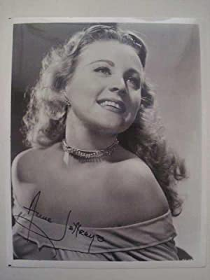 Anne Jeffreys, Original Hand-Signed Photograph