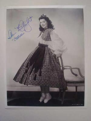 Ann Rutherford, Original Hand-Signed Photograph