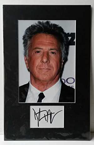 Dustin Hoffman, Hand Signed Autograph 2010