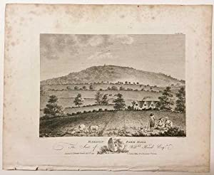 Bardon Park Hill Bradgate Old John Leicestershire 1791 Antique Print: Throsby