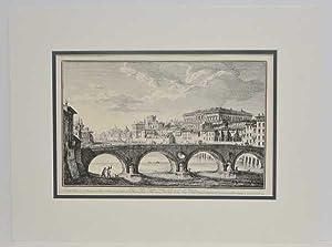 Rome Ponte Sisto Bridge (Modern Reproduction): Vasi, Giuseppe