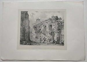 Roman Jewry Wall Leicester Original Printer's Proof: Flower, J.