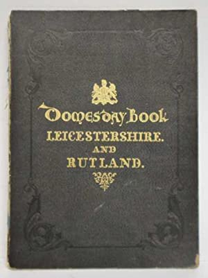 Domesday Book: Leicestershire and Rutland