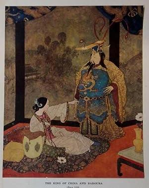 Antique Print ex Arabian Nights The King: Dulac, Edmund