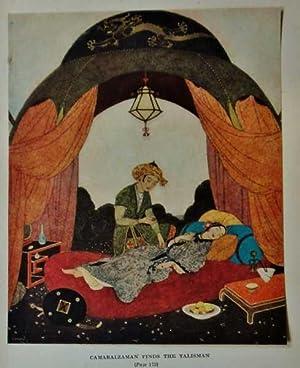 Antique Print ex Arabian Nights Camaralzaman &: Dulac, Edmund