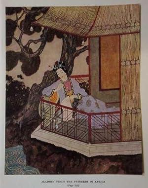 Antique Print ex Arabian Nights Princess in: Dulac, Edmund