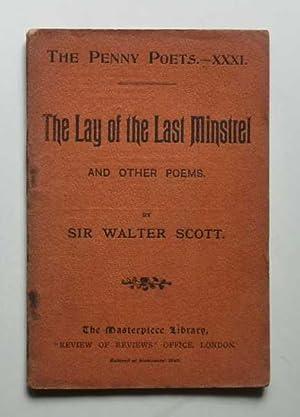 The Lay of the Last Minstrel (Penny: Scott, Walter