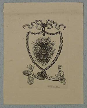 James Charles Getting, Bookplate
