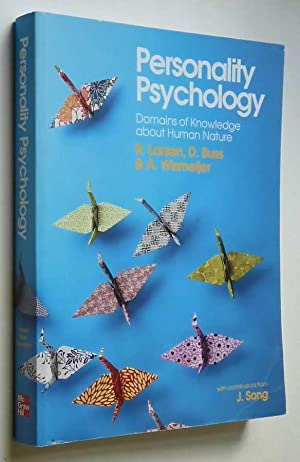 Personality Psychology: Domains of Knowledge about Human: Larsen et. al.,