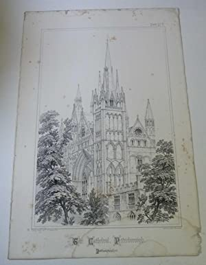 The Cathedral, Peterborough (Spires & Towers of Medieval Churches V.1 Pl. 8)