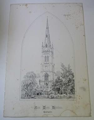St. Mary's, Whittlesea (Spires & Towers of Medieval Churches V.1 Pl. 17)