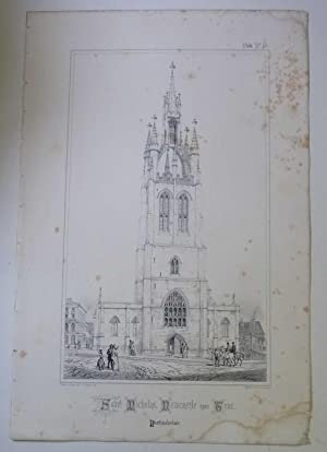 St. Nicholas, Newcastle (Spires & Towers of Medieval Churches V.1 Pl. 19)