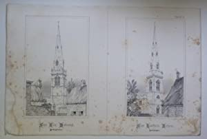 St Giles Desborough, St Lawrence Bothorne (Spires & Towers of Medieval Churches V.1 Pl. 21)