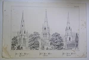 St Mary Wollaston, Witney, St James Southam (Spires & Towers of Medieval Churches V.1 Pl. 21)