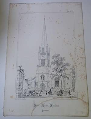 St. Mary's, Bloxham (Spires & Towers of Medieval Churches V.1 Pl. 11)
