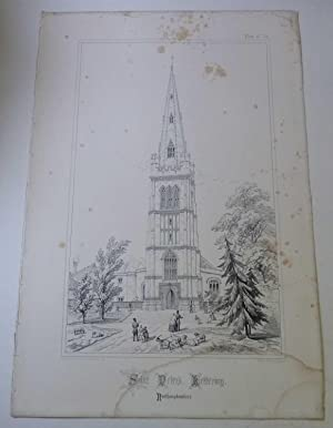 St. Peter's, Kettering (Spires & Towers of Medieval Churches V.1 Pl. 13)