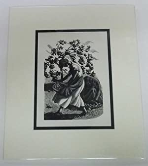 'A Lapful of Windfalls', 1936 Lithograph