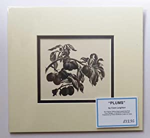 'Plums', 1936 Lithograph