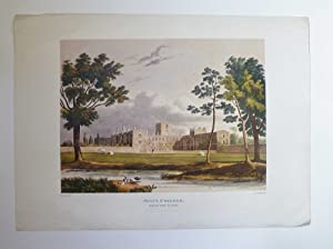 Jesus College from the Close Facsimile Print: J.C. Stadler