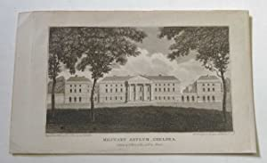 The Military Asylum, Chelsea, Antique Engraving