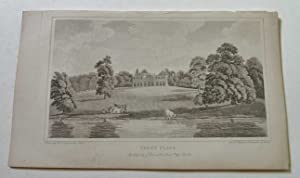 Trent Place, Antique Engraving