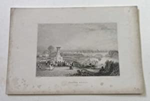 Staines Bridge, Middlesex Antique Engraving