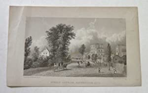 Steels Cottage, Haverstock Hill Antique Engraving