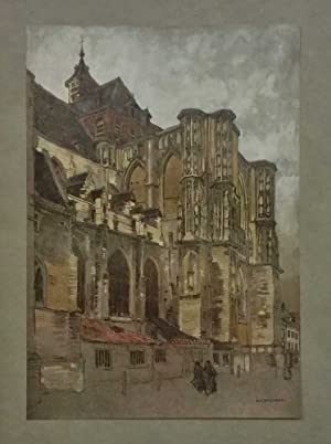 Louvain, The Cathedral (Glory of Belgium c.1920)