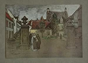 Louvain, BÃ guinage (Glory of Belgium c.1920)