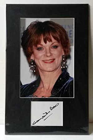 Samantha Bond, Hand Signed Autograph 2010