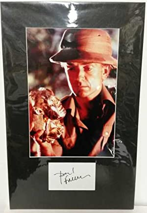 Paul Freeman, Hand Signed Autograph 2010
