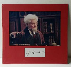 Jim, Broadbent, Hand Signed Autograph 2010
