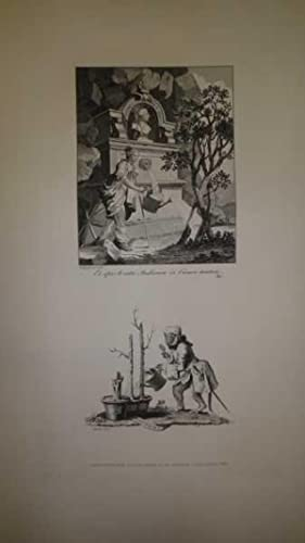 Frontispiece & Tail Piece to the Artists': Hogarth, William