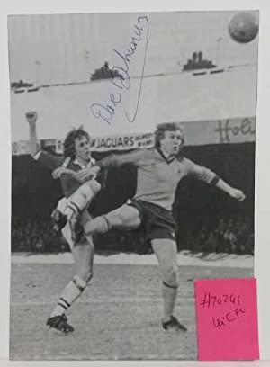 Dave Buchanan Leicester City FC Hand Signed Autograph c1975