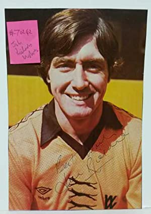 John Richards, Wolves, Hand Signed Autograph 1975